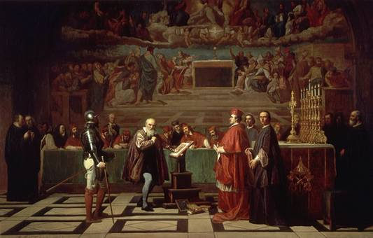 Galileo before the Holy Office Gratuito patrocinio sempre garantito per le vittime di stalking
